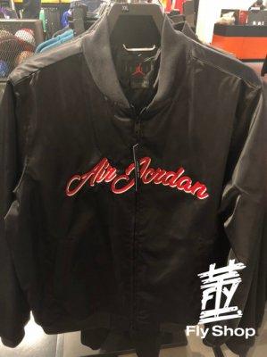 [飛董] NIKE JORDAN JACKET 棒球外套 刺繡 飛行外套 男裝 CD5760 010 黑 620 紅