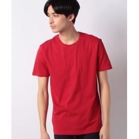 (BENETTON (mens)/ベネトン メンズ)コットンカラー半袖Tシャツ・カットソー/メンズ レッド