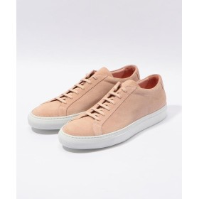 (TOMORROWLAND GOODS/トゥモローランド グッズ)COMMON PROJECTS Achilles Low スエードスニーカー/メンズ 33ライトピンク