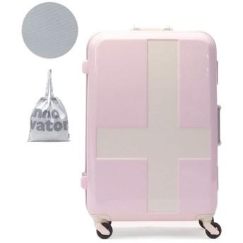(innovator/イノベーター)イノベーター スーツケース innovator キャリーケース フレーム 軽量 旅行 INV58T(60L 3~5日 Mサイズ)/ユニセックス ライトピンク