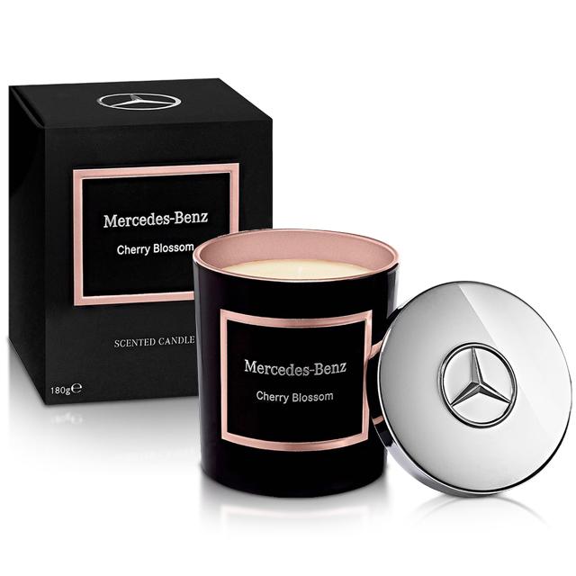 Mercedes Benz 賓士 櫻花綻放頂級居家香氛工藝蠟燭(180g)