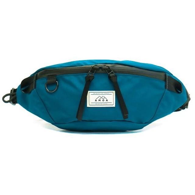 (AMOA/アモア)アモア ウエストバッグ AMOA ウエストポーチ HALFBALL 防水 軽量 AM04/ユニセックス ネイビー