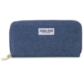 (SUN BRAMND/サンブランド)Jolie Joli ジョリージョリ ラウンドファスナー長財布 2017900 デニム レディース 財布/レディース ブルー系2