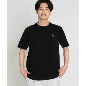 (BEAMS MEN/ビームス メン)【WEB限定】LACOSTE / コットン クルーネック Tシャツ/メンズ 031BLACK