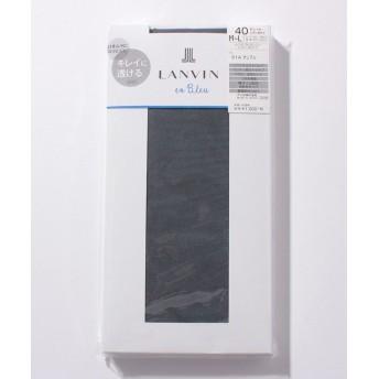 (LANVIN en Bleu(ladies socks)/ランバンオンブルーレディスソックス)タイツ(40D)/レディース オンブル