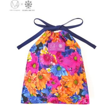 (COLORFUL CANDY STYLE/カラフルキャンディスタイル)巾着(ミディアムサイズ) マーガレット/デイジー 【mika】/ その他