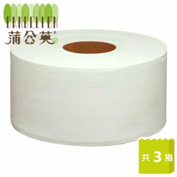 蒲公英 環保大捲筒衛生紙(800g x3捲/串)