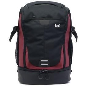 (LEE/リー)Lee リュック LEE リー バッグ tidy タイディ リュックサック デイパック バックパック A4 PC収納 320-16300/ユニセックス レッド