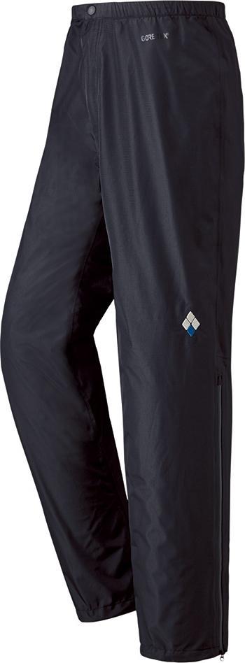 ├登山樂┤日本 mont-bell RAIN DANCER 男防水透氣雨褲-黑 # 1128567BK