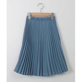 (a.v.v(KID'S)/アーヴェヴェ キッズ)[100-130]親子プリーツスカート[WEB限定サイズ]/ ブルー