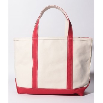 (L.L.Bean/エルエルビーン) 【L.L.BEAN】BOAT&TOTE ZIP-TOP/ユニセックス RED