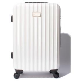 (BENETTON (women)/ベネトン レディース)【M】静走ラインキャリーケース・スーツケース容量約48L 静音/レディース ホワイト