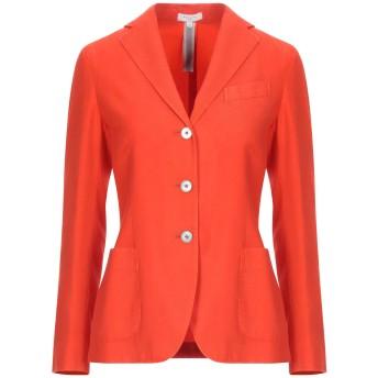 《セール開催中》BOGLIOLI レディース テーラードジャケット オレンジ 40 カシミヤ 100% / コットン / キュプラ