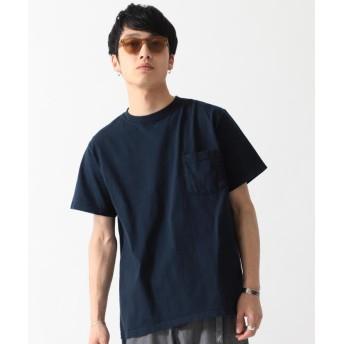 (BEAMS MEN/ビームス メン)GOODWEAR / ポケット Tシャツ/メンズ NAVY