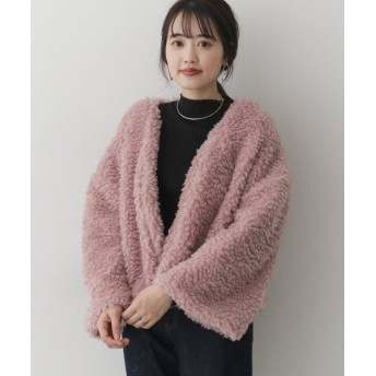 (URBAN RESEARCH OUTLET/アーバンリサーチ アウトレット)【ITEMS】ボアショートコート/レディース ピンク