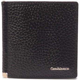 (Orobianco(Wallet・Belt・Stole)/オロビアンコサイフベルトマフラー)札バサミ(ORS-021508)/メンズ BLACK