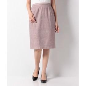 (Leilian/レリアン)すっきりタイトスカート/レディース ピンク