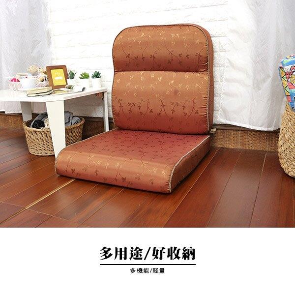坐墊 椅墊 木椅墊 《小步舞曲緹花L型沙發實木椅墊-6入》-台客嚴選