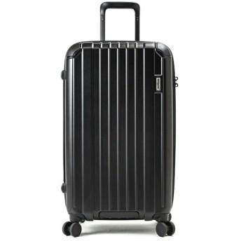(BERMAS/バーマス)バーマス ヘリテージ スーツケース Lサイズ/72L キューブ型 ファスナータイプ ストッパー機能 大容量 受託手荷物規定内 BERMAS 60495/ユニセックス ブラック
