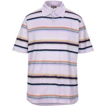 《セール開催中》CRUCIANI メンズ ポロシャツ モーブ 54 コットン 100%