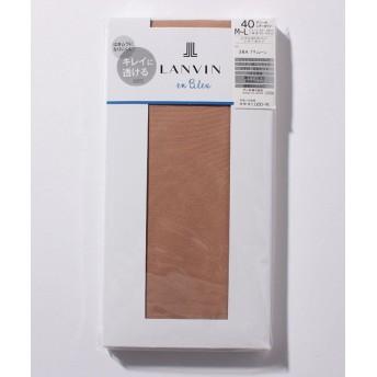 (LANVIN en Bleu(ladies socks)/ランバンオンブルーレディスソックス)タイツ(40D)/レディース ナチュレール