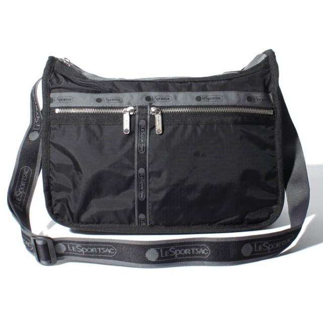 (LeSportsac/レスポートサック)DELUXE EVERYDAY BAG ヘリテージノアール/レディース ブラック系