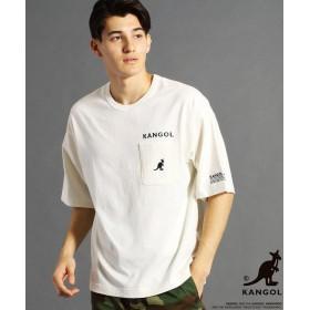 (vital/ヴィタル)【WEB別注】KANGOLコラボビッグTシャツ/メンズ 09ホワイト
