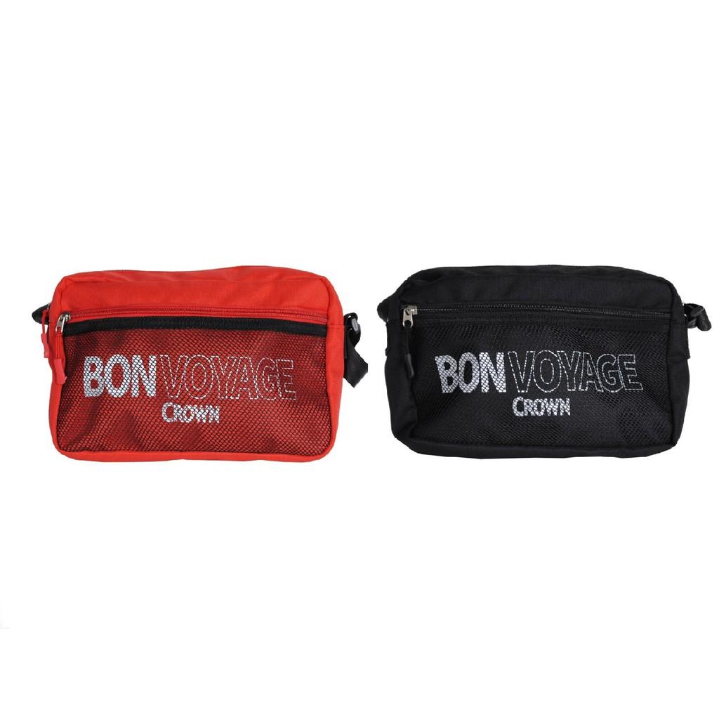 BONVOYAGE CROWN 郵差包【旅遊補給】側背包 MCL5015 旅行用品 生日禮物 皇冠牌(兩色)