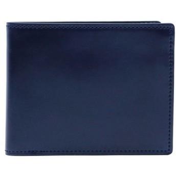 (PORTER/ポーター)吉田カバン ポーター ビル コードバン 二つ折り財布 PORTER BILL CORDVAN 日本製 184-02270/メンズ ブルー