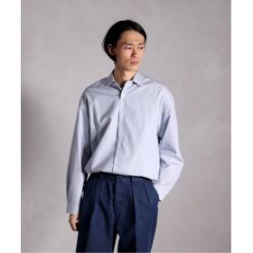 (EDIFICE/エディフィス)LA BOUCLE レギュラーカラーワイドシャツ/メンズ サックスブルー