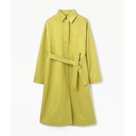 (TOMORROWLAND collection/トゥモローランド コレクション)スパークツイル ベルテッドコート/レディース 55グリーン