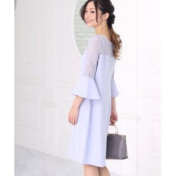 (Bou Jeloud/ブージュルード)【WEB限定】シアートップレースドレス/レディース グレー