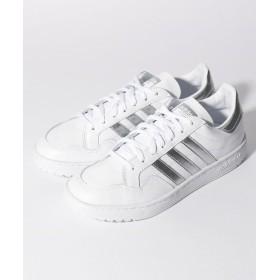 (adidas/アディダス)MODERN 80 EUR COURT W/レディース ホワイト