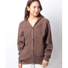 マーコート KNITTED PARKA レディース BROWN f 【MARcourt】