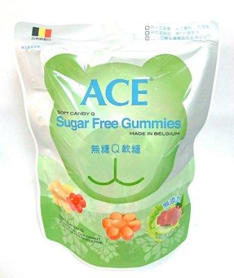 ACE比利時原裝進口 Q軟糖 醫療院所推薦 100%無人工色素防腐劑 無糖/水果/字母 3種選擇