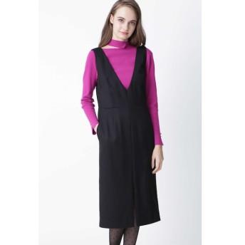 【ピンキーアンドダイアン/PINKY&DIANNE】 ◆ウールヘリンボーンジャンパースカート