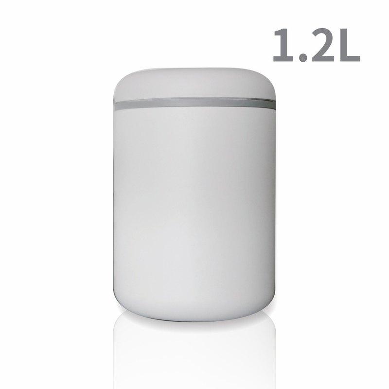 FELLOW ATMOS不鏽鋼真空密封罐 霧面白 1.2L