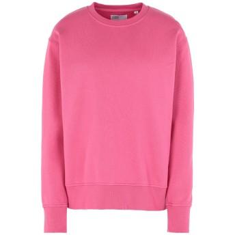 《セール開催中》COLORFUL STANDARD レディース スウェットシャツ ピンク XS オーガニックコットン 100%
