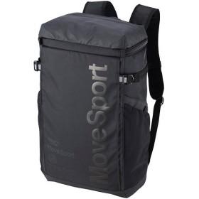 デサント(DESCENTE) スクエアバッグM ブラック×ブラック DMAPJA04 BK バックパック リュックサック デイバッグ スポーツバッグ かばん 鞄 通勤通学