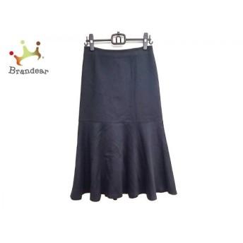 ルシェルブルー LE CIEL BLEU ロングスカート サイズ40 M レディース 美品 黒 新着 20200107