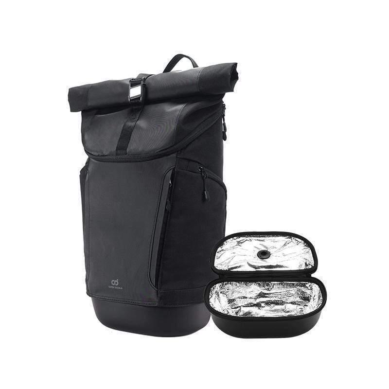 快卡背包 運動款 - 碳黑色全配
