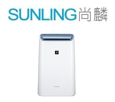 SUNLING尚麟 SHARP夏普 空氣清淨除濕機 10.5L DW-H10FT 活性碳+HEPA濾網 1級 來電優惠