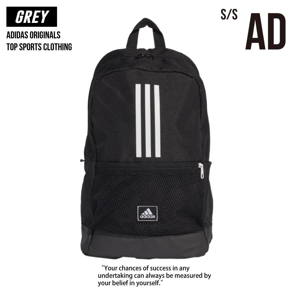 Adidas 愛迪達 經典 三線 後背包 背包 黑色 運動後背包 新款 FJ9267 全新正品 統一發票