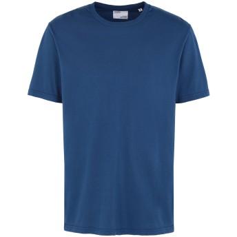 《セール開催中》COLORFUL STANDARD メンズ T シャツ ブライトブルー S オーガニックコットン 100%