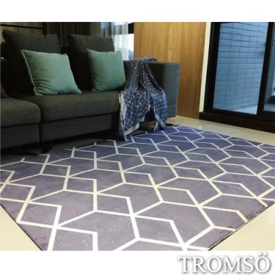TROMSO珊瑚絨短毛地毯-特大B北歐積木230x160cm