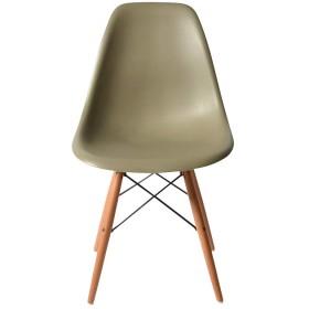 DSW オリーブグリーン サイドシェルチェア/Shell Side Chair イームズ PP(強化ポリプロピレン)
