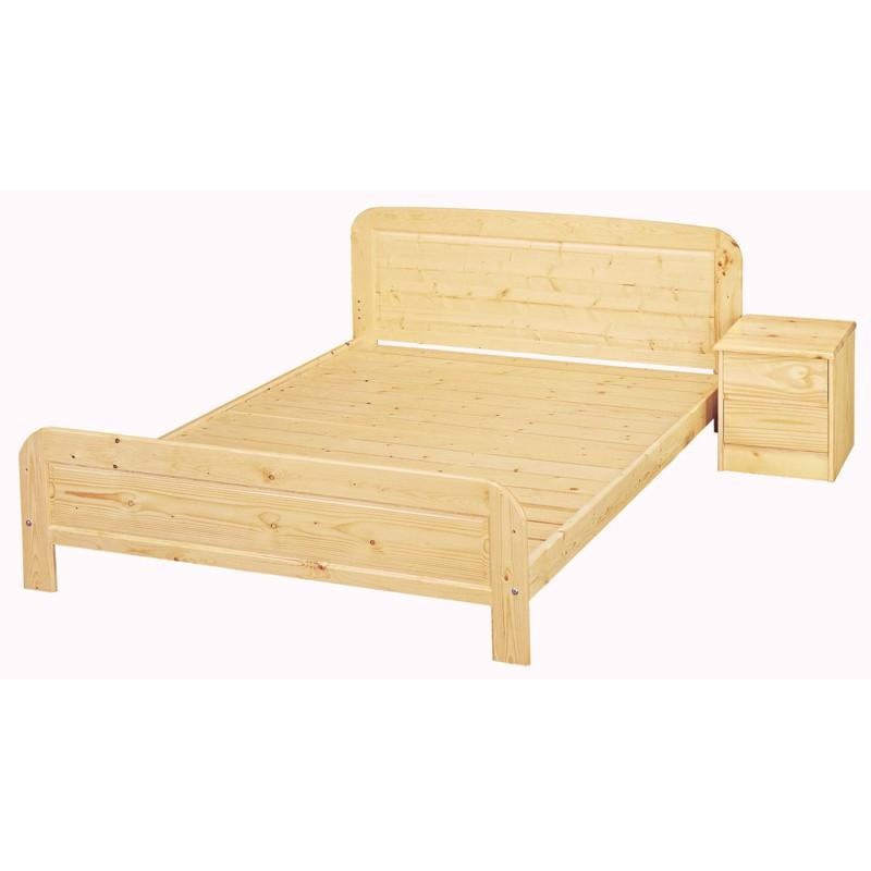 【SA082-2】 白松木5尺床(實木板)