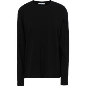 《セール開催中》NINETY PERCENT レディース T シャツ ブラック XS オーガニックコットン 100%