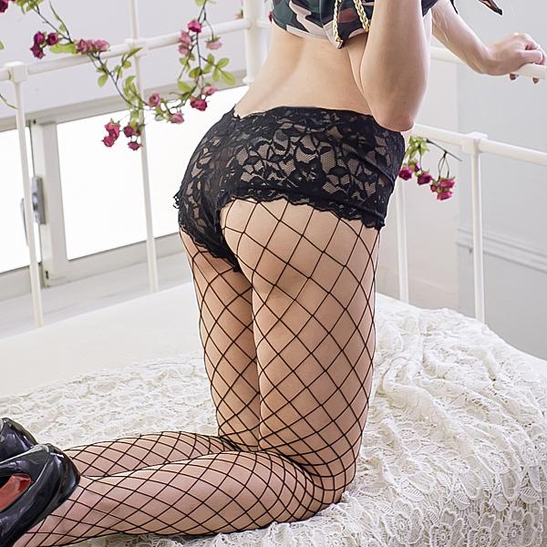 褲襪 歐美熱賣款蕾絲網襪 台灣製性感褲襪 蕾絲褲襪 流行e線B8121