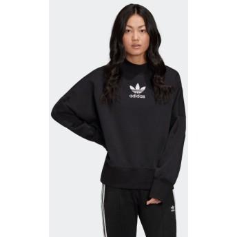 全品送料無料! 03/23 17:00〜03/27 17:00 30%OFF アディダス公式 ウェア トップス adidas ボーイフレンド ロゴ スウェットシャツ / Boyfriend Logo Sweatshirt